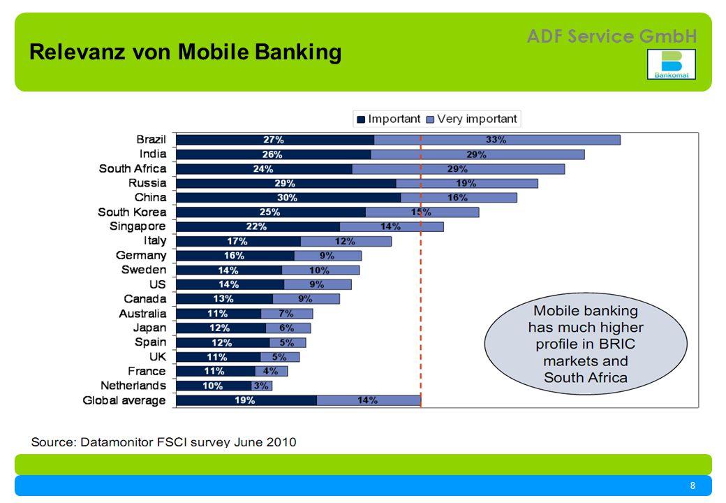 8 ADF Service GmbH Relevanz von Mobile Banking