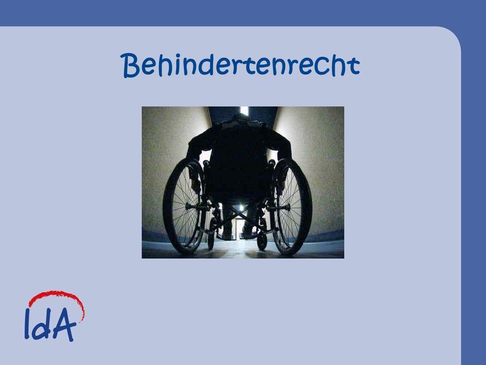 Behindertenrecht