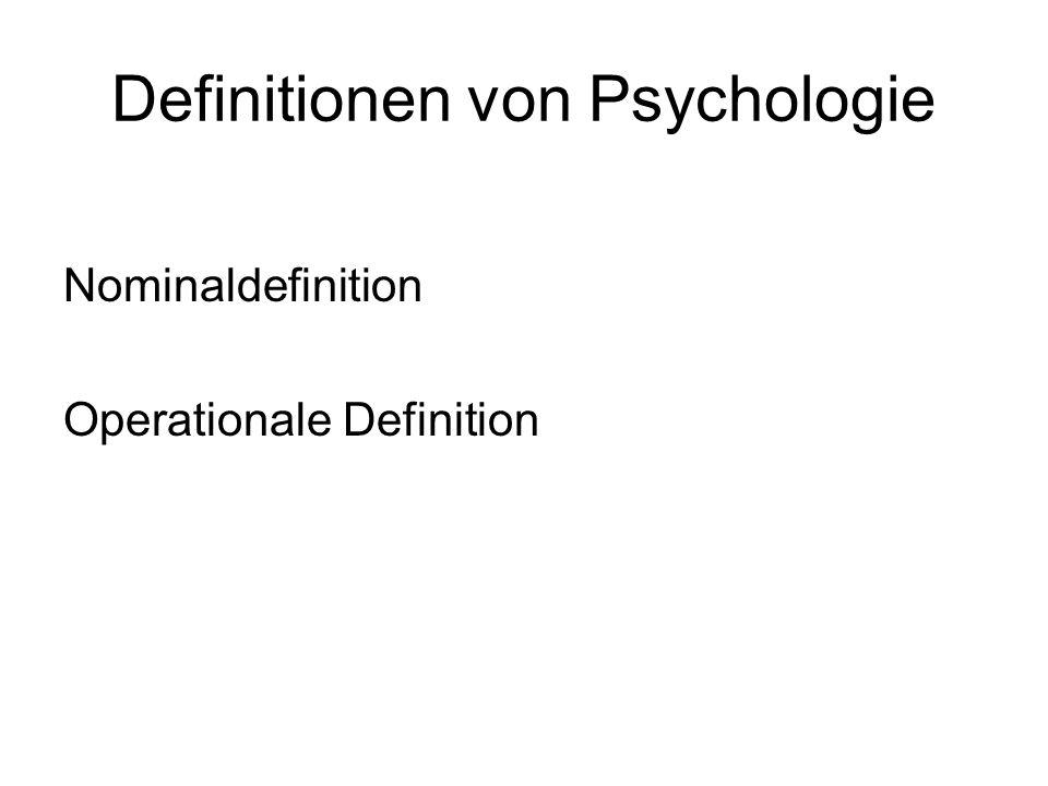 Psychologie 1879 Gründung des Instituts für experimentelle Psychologie in Leipzig durch Wilhelm Wundt
