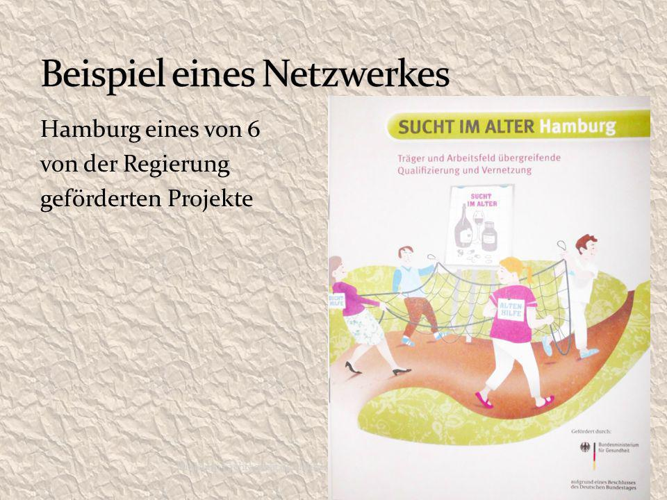 Hamburg eines von 6 von der Regierung geförderten Projekte Dr. Klein Fachtagung der Klinik Eschenburg 2012