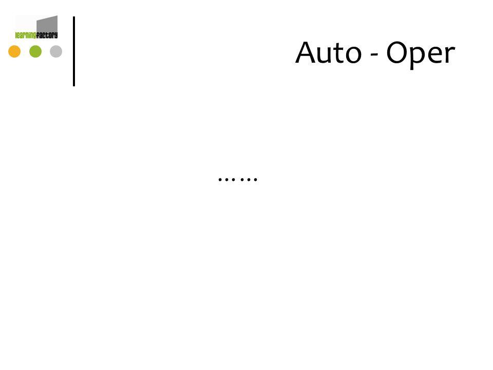 Auto - Oper ……