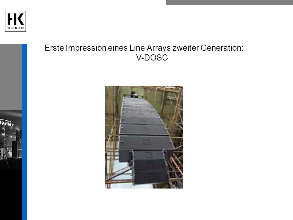 Erste Impression eines Line Arrays zweiter Generation: V-DOSC