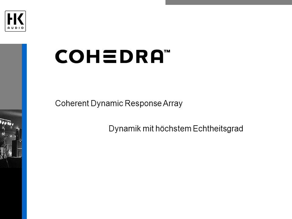 Coherent Dynamic Response Array Dynamik mit höchstem Echtheitsgrad