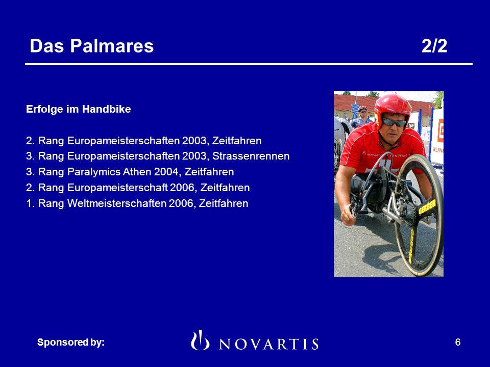Sponsored by:5 Das Palmares1/2 Die grössten Erfolge 14-facher Olympiasieger 20-facher Weltmeister Offizieller Weltrekordhalter (Stand Dez.