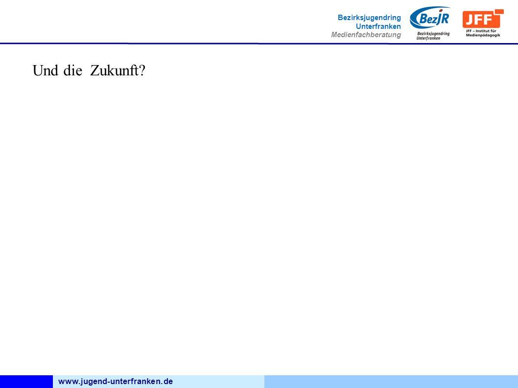 www.jugend-unterfranken.de Bezirksjugendring Unterfranken Medienfachberatung Und die Zukunft?