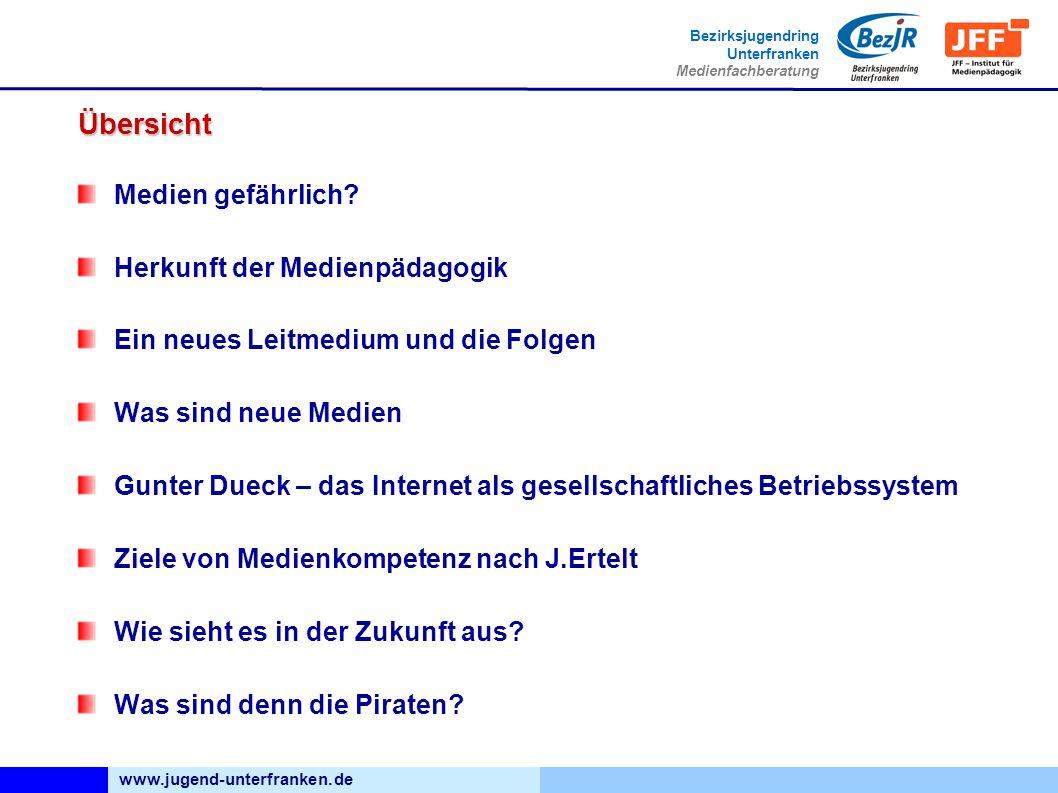 www.jugend-unterfranken.de Bezirksjugendring Unterfranken Medienfachberatung Übersicht Medien gefährlich.