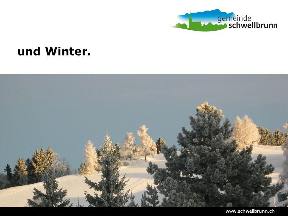 | www.schwellbrunn.ch | und Winter.