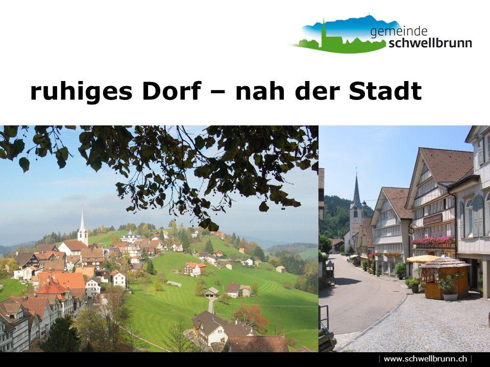 | www.schwellbrunn.ch | ruhiges Dorf – nah der Stadt
