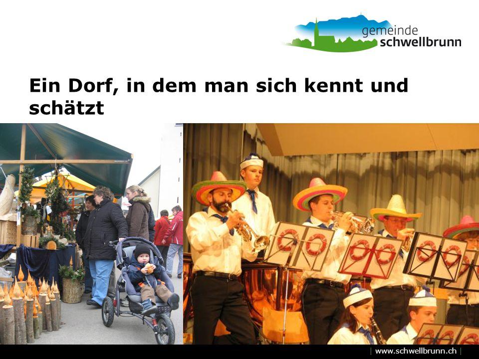 | www.schwellbrunn.ch | Ein Dorf, in dem man sich kennt und schätzt