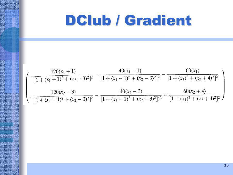 39 DClub / Gradient
