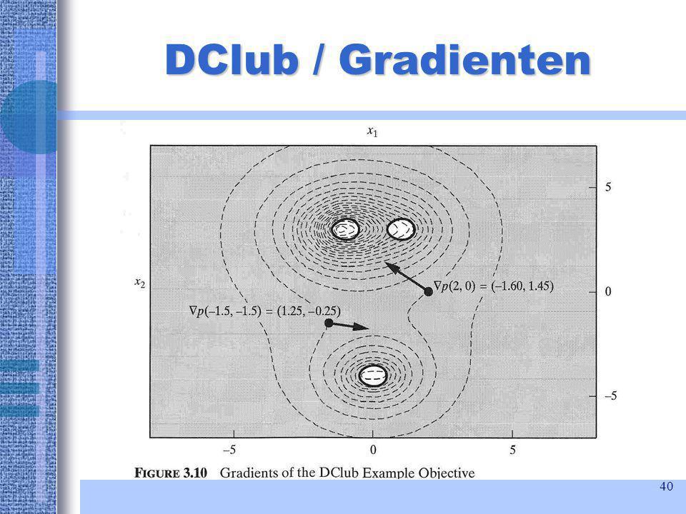 40 DClub / Gradienten