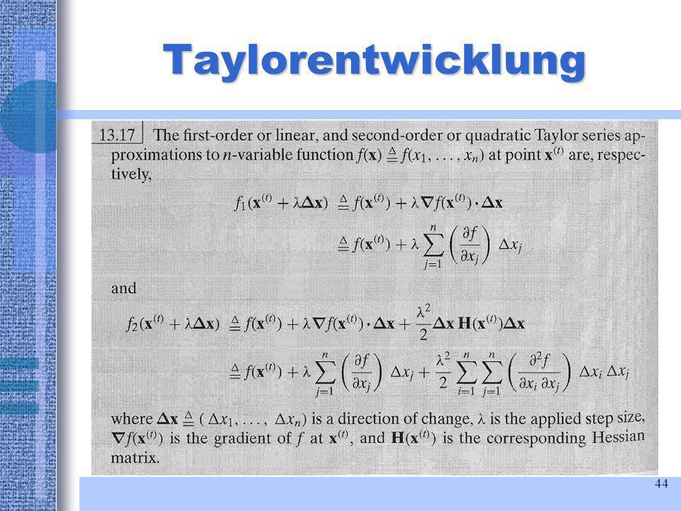 44 Taylorentwicklung