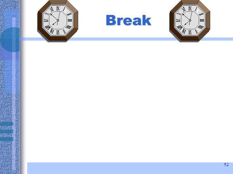52 Break