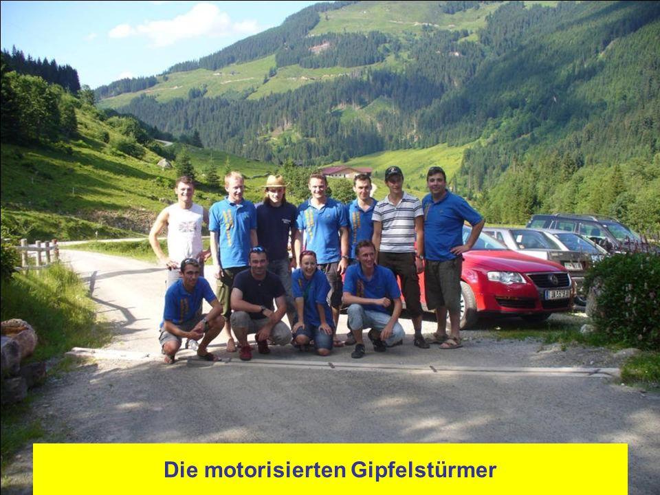 Die motorisierten Gipfelstürmer
