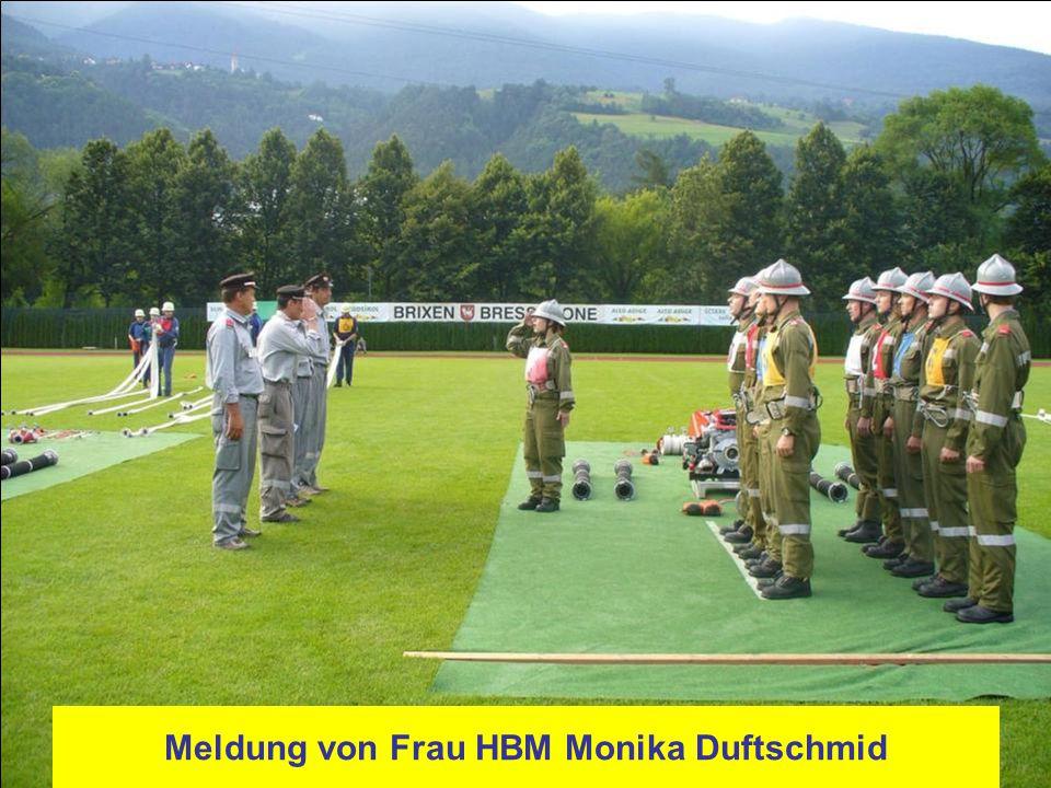 Meldung von Frau HBM Monika Duftschmid