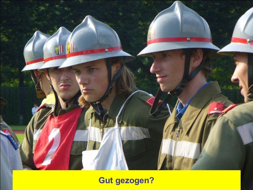 HBM Markus Holl ist der neue Gruppenkommandant - Meldung und los geht´s