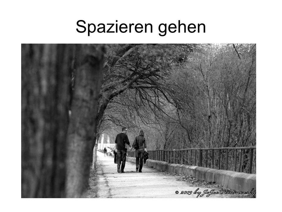 Spazieren gehen