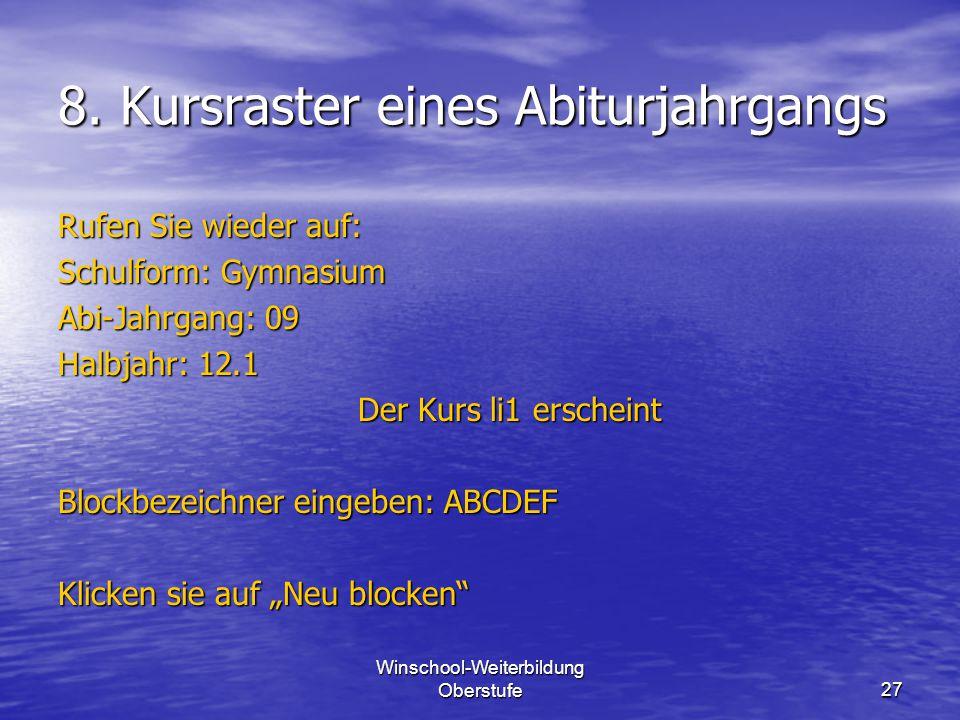 Winschool-Weiterbildung Oberstufe27 8.