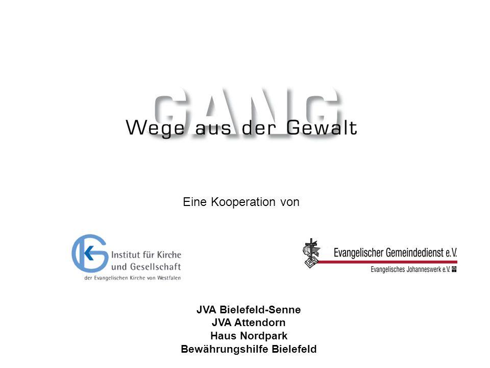 JVA Bielefeld-Senne JVA Attendorn Haus Nordpark Bewährungshilfe Bielefeld Eine Kooperation von