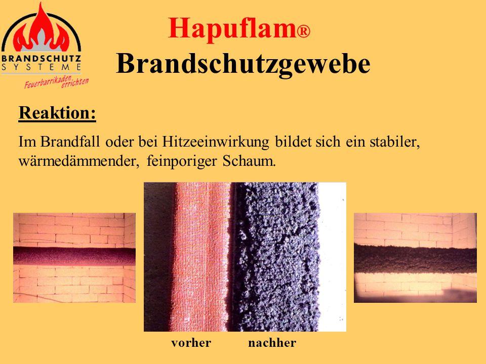 Hapuflam ® Brandschutzgewebe • mit Bindedraht
