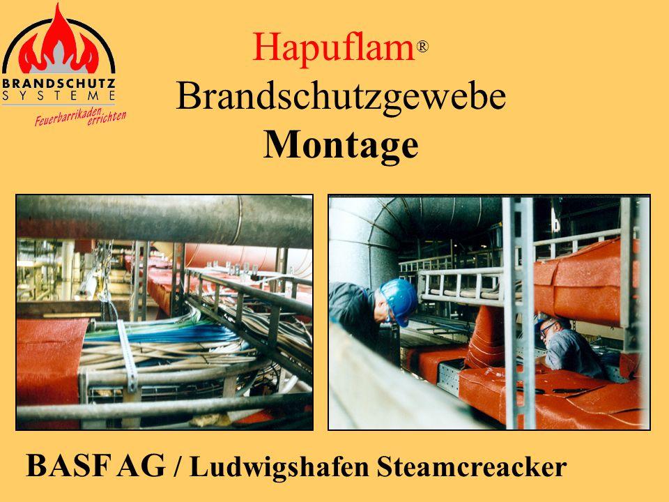 Hapuflam ® Brandschutzgewebe Montage RWE AG / Kernkraftwerk Biblis, Block A