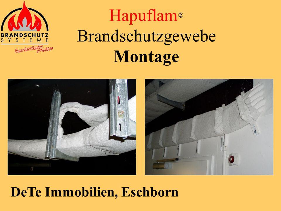 SAP Arena Mannheim Hapuflam ® Brandschutzgewebe Montage