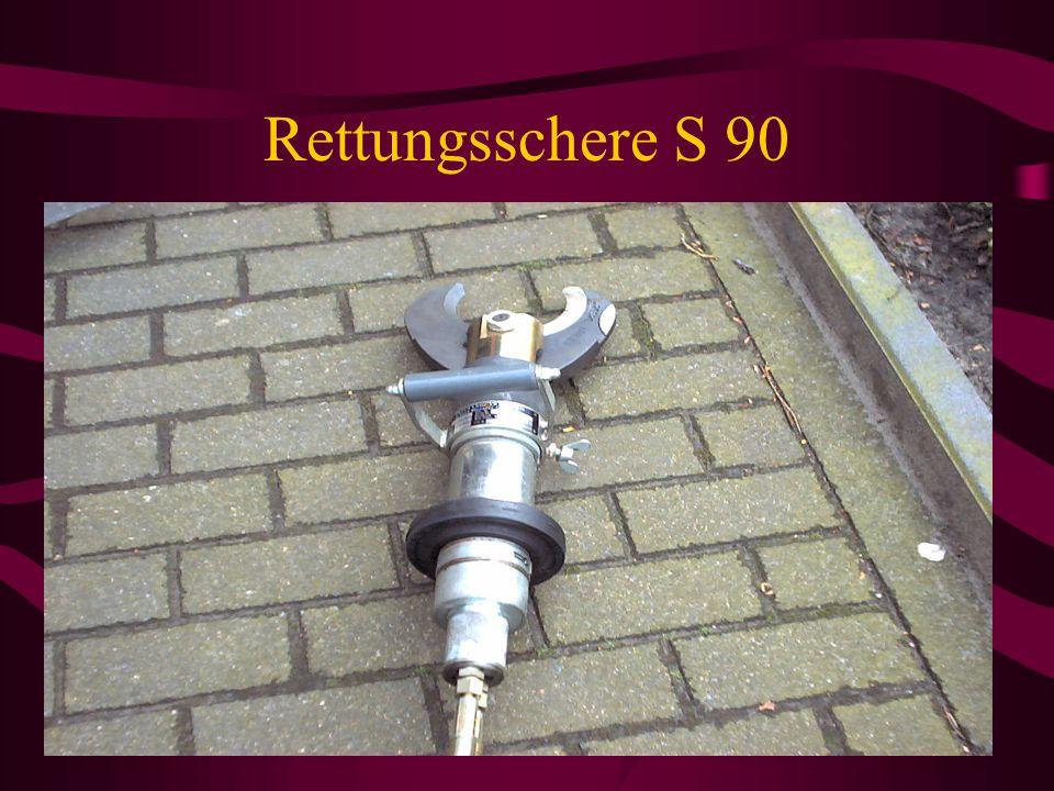 Geräteraum G1 / Fahrerseite Spreizer/Schere Kettensatz