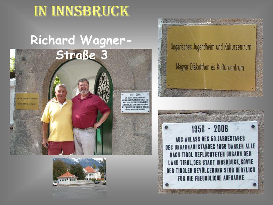 Damit geht unser Besuch in Gnadenwald zu Ende. Emil und Christine treten die Heimreise an.