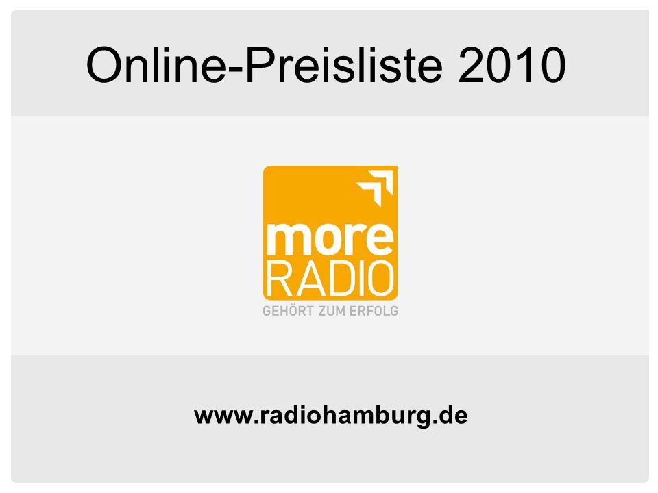 www.radiohamburg.de Online-Preisliste 2010