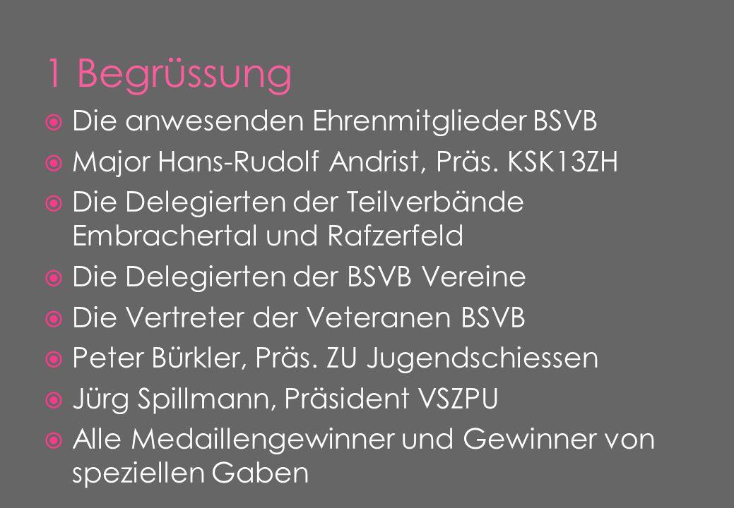  Die anwesenden Ehrenmitglieder BSVB  Major Hans-Rudolf Andrist, Präs.