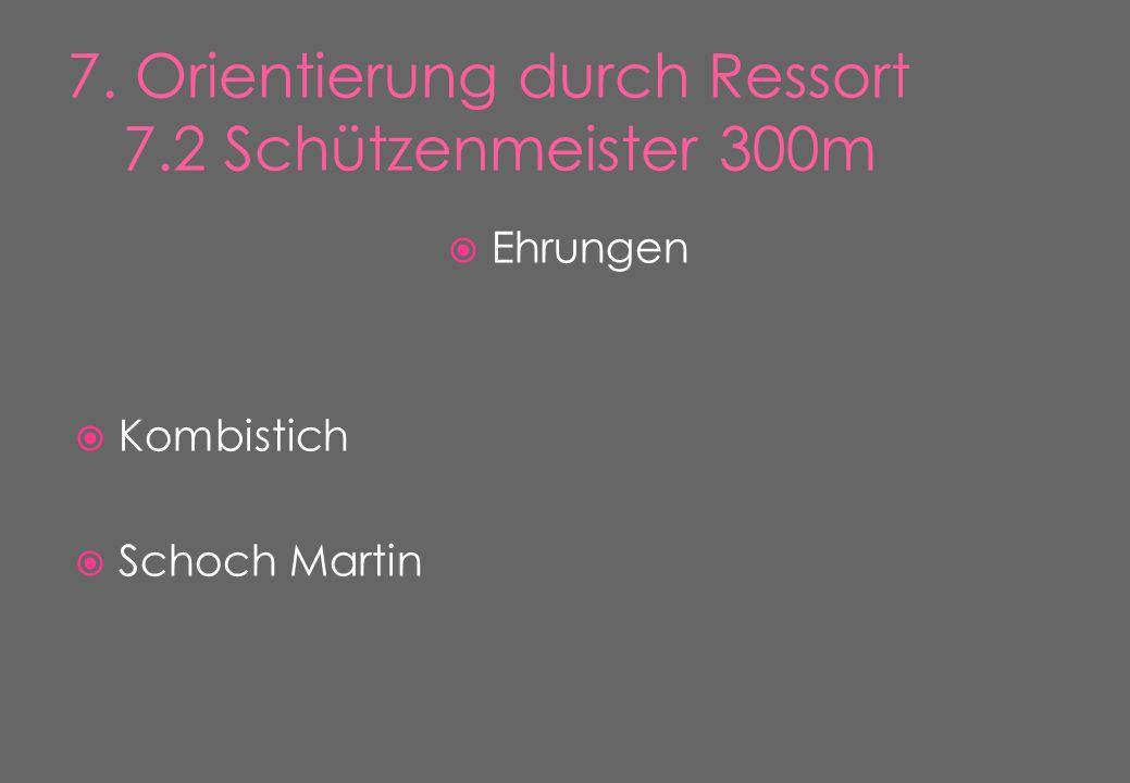  Ehrungen  Kombistich  Schoch Martin