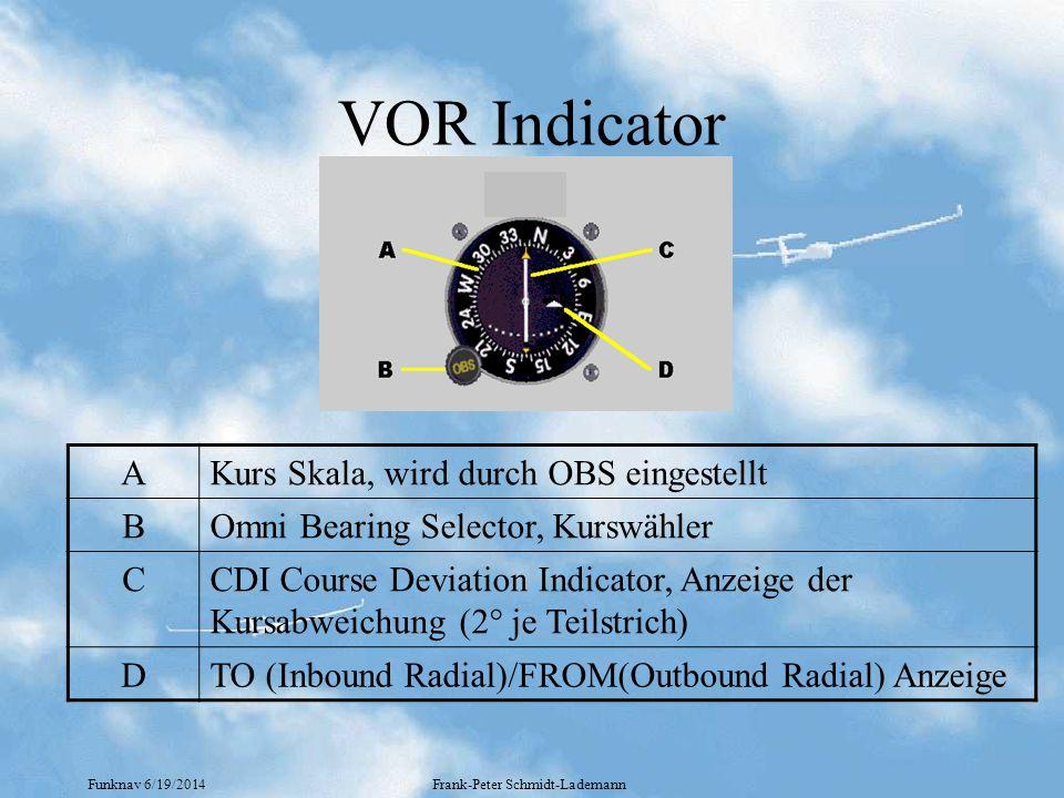 Funknav 6/19/2014Frank-Peter Schmidt-Lademann VOR Indicator AKurs Skala, wird durch OBS eingestellt BOmni Bearing Selector, Kurswähler CCDI Course Dev