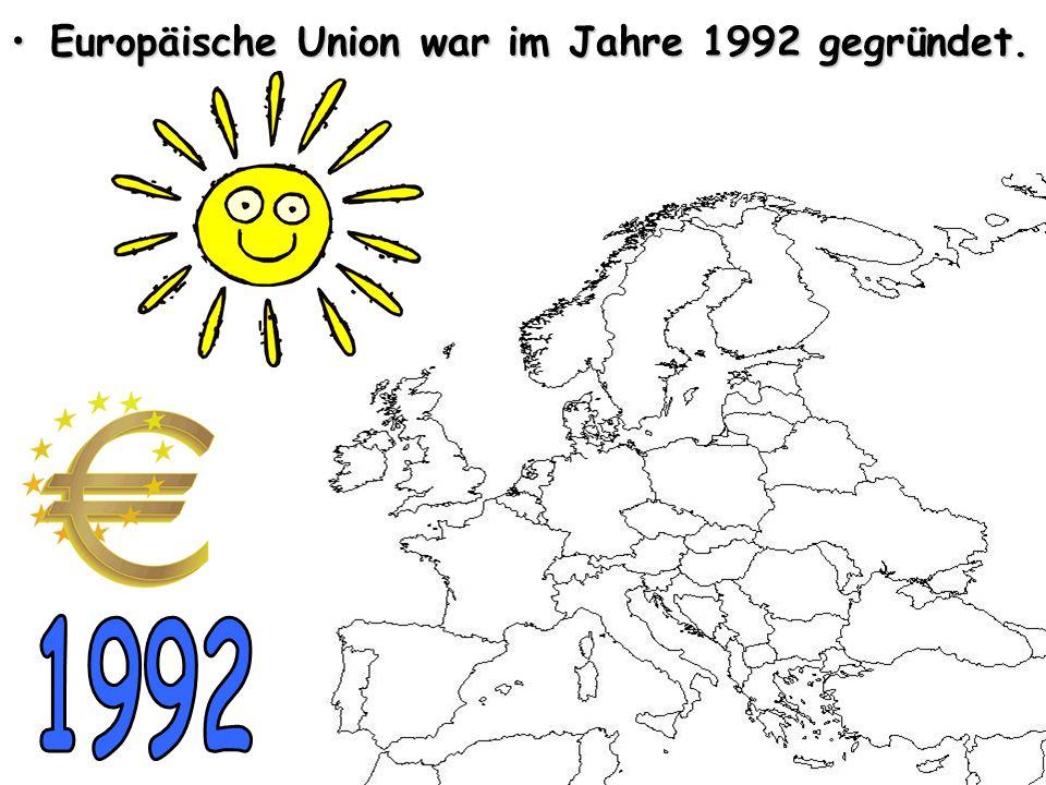 • •Deutschland ist zusammen mit Frankreich, Italien, Luxemburg, der Niederlande und Belgien Mietgliedsstaat der EU.