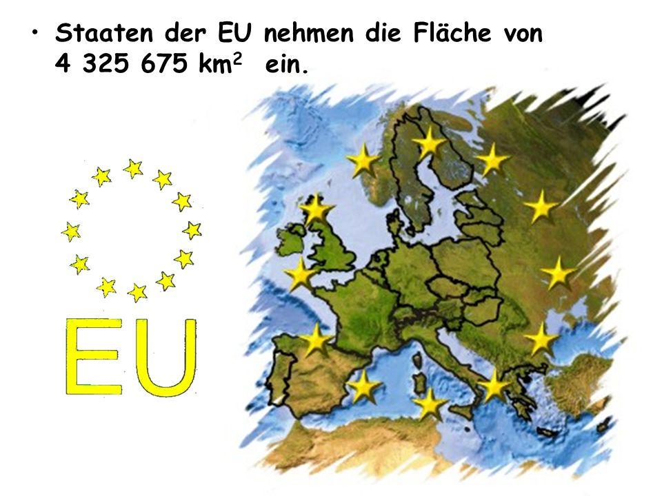 • •Derzeit sind Mitglieder der Europäischen Union 27 Staaten: • • Deutschland • • Frankreich • • Italien • • Spanien • • die Niederlande • • Belgien • • Schweden • • Polen • • Österreich • • Dänemark • • Griechenland • • Finnland • • Portugal • • Vereinigtes Königreich • • Irland • • Tschechien • • Ungarn • • die Slowakei • • Slowenien • • Luxemburg • • Litauen • • Zypern • • Lettland • • Estland • • Malta • • Rumänien • • Bulgarien