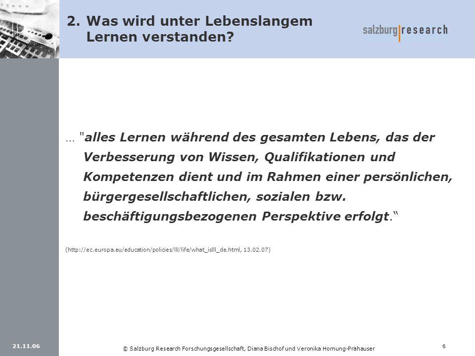 21.11.066 © Salzburg Research Forschungsgesellschaft, Diana Bischof und Veronika Hornung-Prähauser …