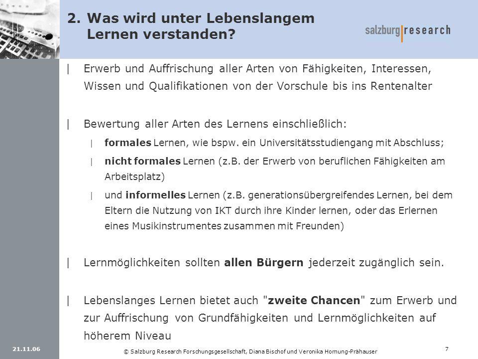 21.11.067 © Salzburg Research Forschungsgesellschaft, Diana Bischof und Veronika Hornung-Prähauser |Erwerb und Auffrischung aller Arten von Fähigkeite
