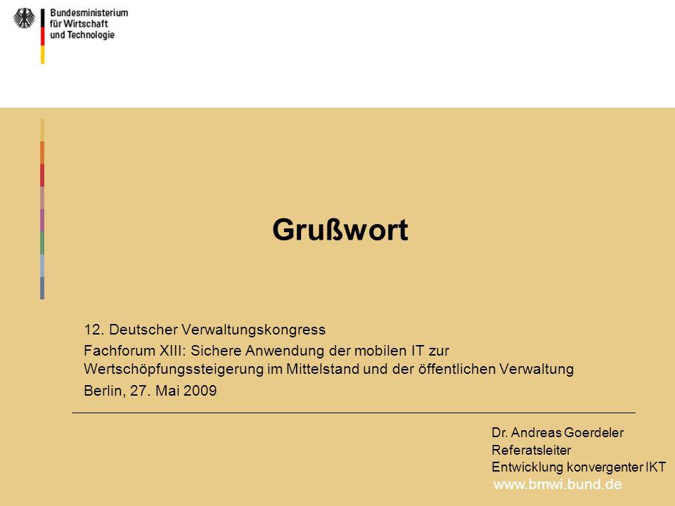 www.bmwi.bund.de 12.