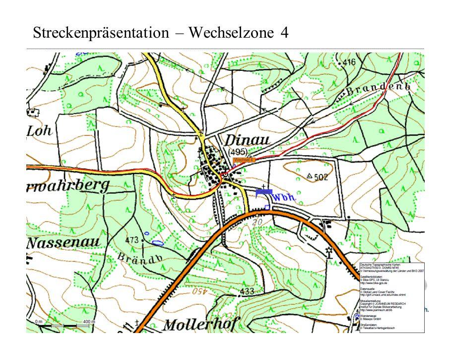 Streckenpräsentation – Wechselzone 4