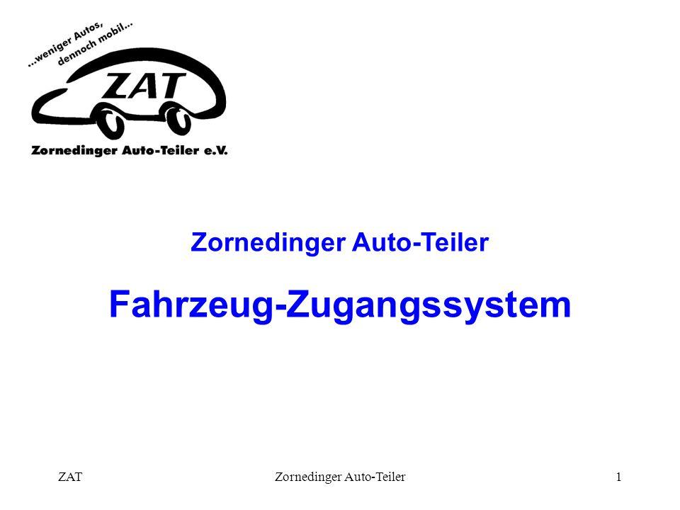 ZATZornedinger Auto-Teiler1 Fahrzeug-Zugangssystem