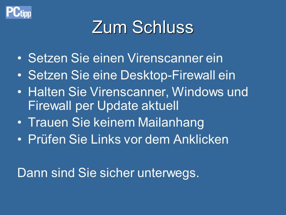 Virustotal.com-Resultat Nach max. 1 Minute wissen Sie mehr: