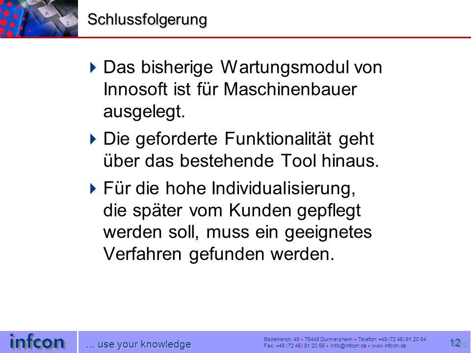 infcon OHG  Badenerstr.