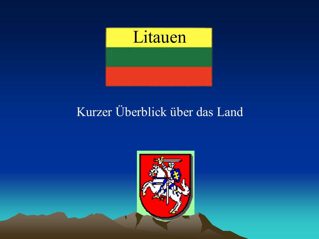 Litauen Kurzer Überblick über das Land