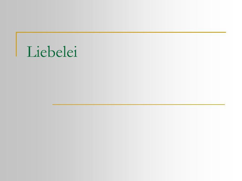 Die Personen  Hans Weiring (Violinspieler am Josefstädter Theater)  Christine Weiring (seine Tochter)  Mizi Schlager (Modistin)  Katharina Binder (Frau eines Strumpfwirkers)  Lina (ihre neunjährige Tochter)  Fritz Lobheimer (junger Mann)  Theodor Kaiser (junger Mann)  Ein Herr (Ehemann der Geliebten) Liebelei