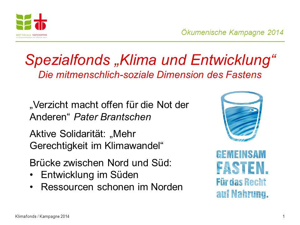 Ökumenische Kampagne 2014 Fasten ist mehr als nichts essen /Kampagne 2014 22 West-Sumatra, Indonesien