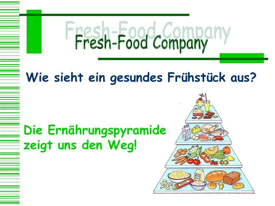 Wie sieht ein gesundes Frühstück aus? Die Ernährungspyramide zeigt uns den Weg!