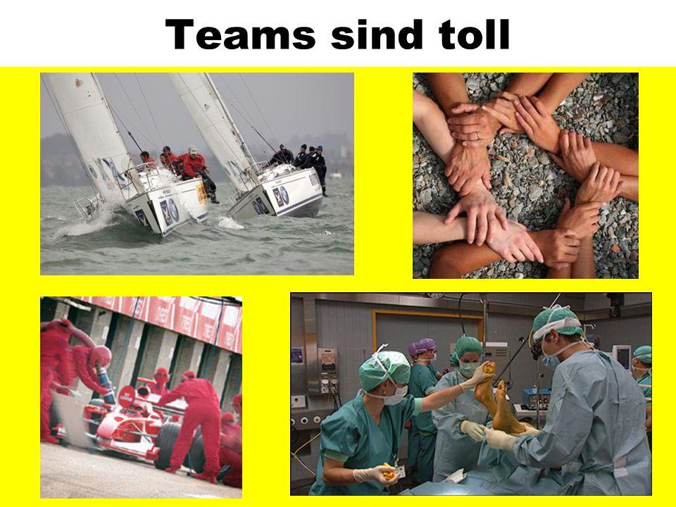 Und wann sind diese Teams arbeitsfähig?