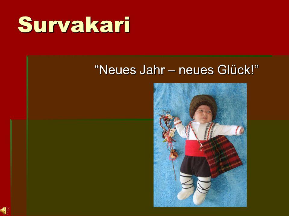 """Survakari Survakari """"Neues Jahr – neues Glück!"""""""