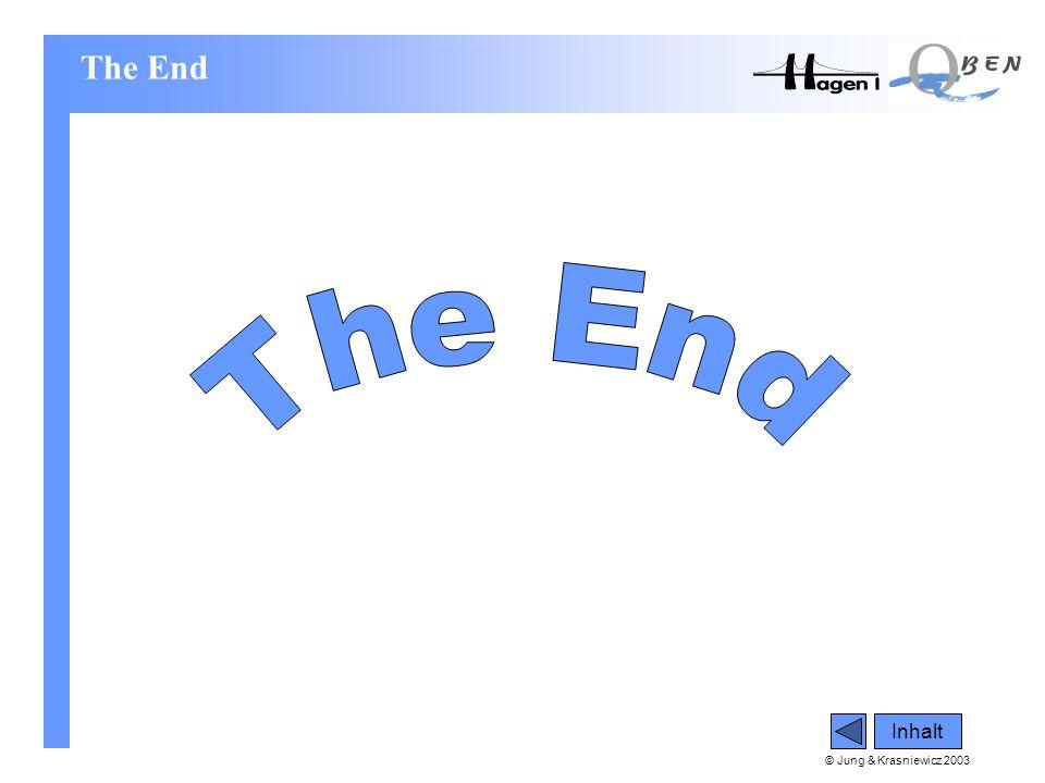 © Jung & Krasniewicz 2003 The End Inhalt