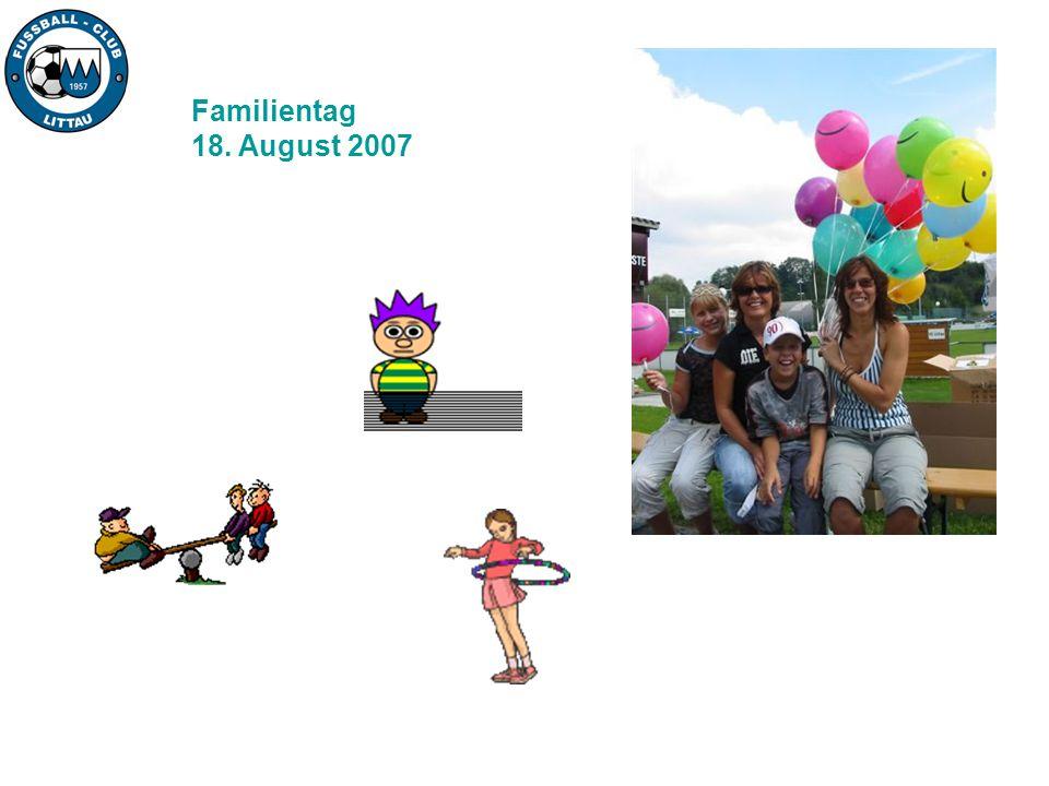 Familientag 18. August 2007