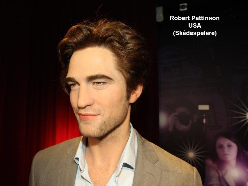 Robert Pattinson USA (Skådespelare)